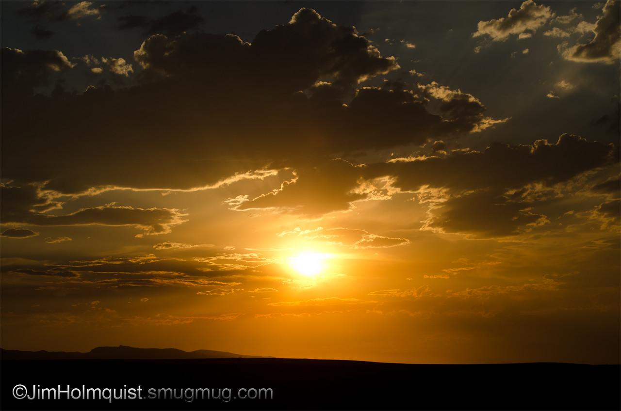 Sunset - near Kuna, Id